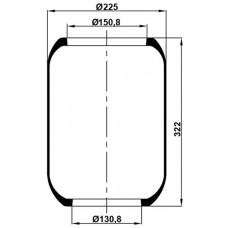 Roll Körükler MX-1415