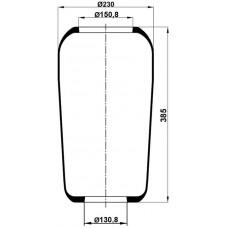 Roll Körükler MX-1234