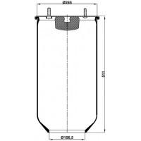 Servis Tipi Körükler (Pistonsuz) MX-813.P