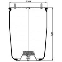 Servis Tipi Körükler (Pistonsuz) MX-4881.2P