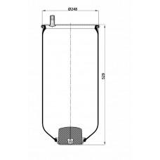 Servis Tipi Körükler (Pistonsuz) MX-113.150.P
