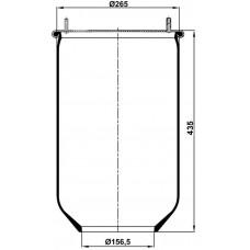 Servis Tipi Körükler (Pistonsuz) MX-1305.P