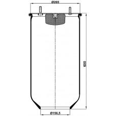 Servis Tipi Körükler (Pistonsuz) MX-1314.P