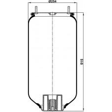 Servis Tipi Körükler (Pistonsuz) MX-1209.P