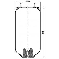 Servis Tipi Körükler (Pistonsuz) MX-1306.10P