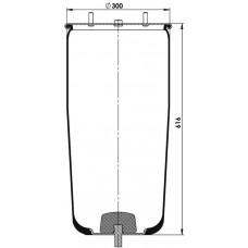 Servis Tipi Körükler (Pistonsuz) MX-1324.P