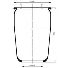 Servis Tipi Körükler (Pistonsuz) MX-1850.P