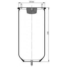 Servis Tipi Körükler (Pistonsuz) MX-0283.1P