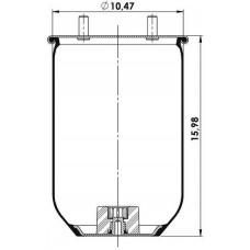 Amerikan Servis Tip Körükler (Pistonsuz) MX-A8091.P