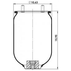 Amerikan Servis Tip Körükler (Pistonsuz) MX-A8709.P