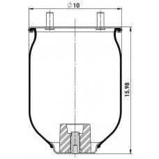Amerikan Servis Tip Körükler (Pistonsuz) MX-A8755.P