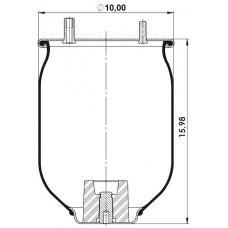 Amerikan Servis Tip Körükler (Pistonsuz) MX-A8752.P