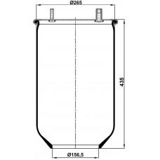 Servis Tipi Körükler (Pistonsuz) MX-1304.P