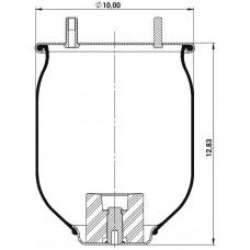 Amerikan Servis Tip Körükler (Pistonsuz) MX-A8729.P
