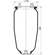Amerikan Servis Tip Körükler (Pistonsuz) MX-A0212.P