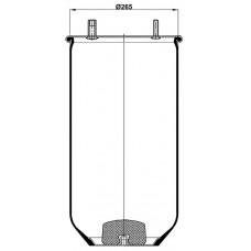 Servis Tipi Körükler (Pistonsuz) MX-1840.P