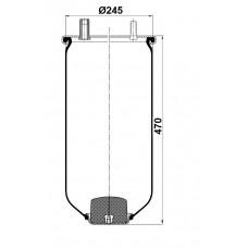 Servis Tipi Körükler (Pistonsuz) MX-1709.P