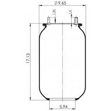 Amerikan Servis Tip Körükler (Pistonsuz) MX-A8536.P