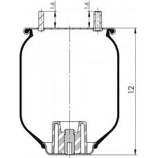 Amerikan Servis Tip Körükler (Pistonsuz) MX-A8204.P