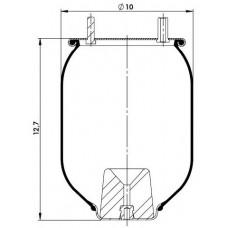 Amerikan Servis Tip Körükler (Pistonsuz) MX-A4619.P