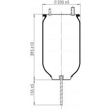 Servis Tipi Körükler (Pistonsuz) MX-1163.P