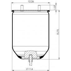 Amerikan Servis Tip Körükler (Pistonsuz) MX-A5319.P