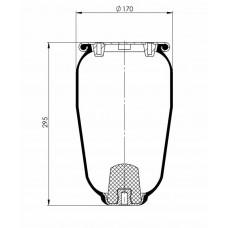 Amerikan Servis Tip Körükler (Pistonsuz) MX-A5323.1P