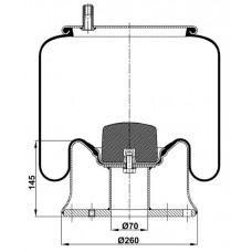 Komple Körükler MX-113.150.K