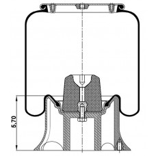Amerikan Komple Körükler MX-A4156.6KPP