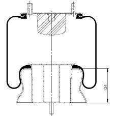 Amerikan Komple Körükler MX-A2365.K