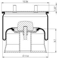 Amerikan Komple Körükler MX-A5319.K