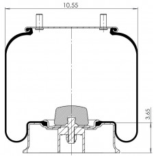 Amerikan Komple Körükler MX-A8050.KALU